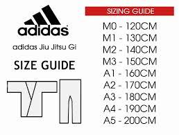 Judo Gi Size Chart Adidas Www Bedowntowndaytona Com
