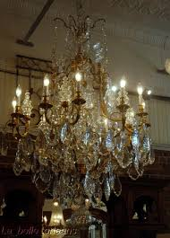 large size of lighting magnificent antique chandeliers for 4 ori monumental pair french crystal bronze