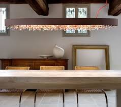 dining room enchanting image of dining room decoration using decorative glass crystal modern light fixtures