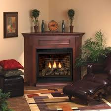 cherry standard corner mantel 32 firebox dvd32 w matte black frame corner direct vent tahoe deluxe 36 fireplace