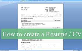 How To Make A Resume On Word 2007 Amypark Us For Write Microsoft