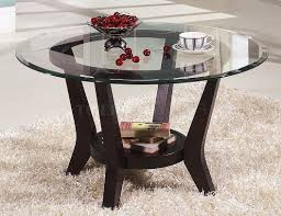topic to cherry coffee table end tables 3pc set wclear glass top round e551a3bc4f32706b33236e0de28
