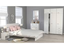 Schlafzimmer Galeno 122 Weiß 5 Teilig Bett 2x Nako Schrank Kommode