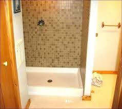 install tile shower pan ready for tile shower base tile shower pan installing tile shower floor