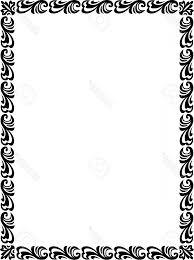 Photobeautiful Basic Design Border Frame In Vector Lines