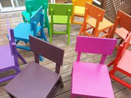 bright colored furniture. get the free plans to build these brightlycolored kidsu0027 chairs on ana bright colored furniture