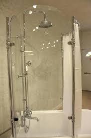 clawfoot tub glass shower surround vintage antique tub with glass shower surround oasis tub shower curtain clawfoot tub glass shower