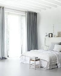 White Bedroom With Grey Curtains And Gray Couch – statusquota.co