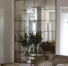 antique mirror with rosettes antique