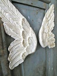 angel wings wall decor white metal hobby lobby canada