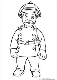 Tekeningen Te Schilderen Kleur Brandweerman Sam Print Design 022