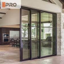 interior aluminium sliding doors with
