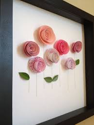 handmad rolled roses more on diy 3d wall art with 35 easy creative diy wall art ideas for decoration pinterest
