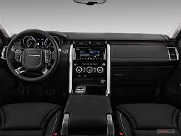 2018 land rover discovery dashboard