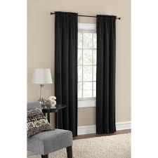 Mainstays Room Darkening Solid Woven Window Curtains, Set of two -  Walmart.com