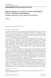 mauricio su atilde iexcl rez ed fictions in science philosophical essays inside