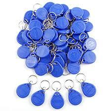 Id Reader Key 125khz 50pcs Card Fobs Sensor Proximity Blue Rfid tUYURX