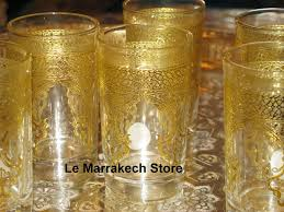 gold moroccan tea glasses moroccan tea glasses gold clear glasses with gold decorative pattern