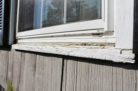 exterior window sill installation. rotted window trim and sills- before replacement by monk\u0027s exterior sill installation e