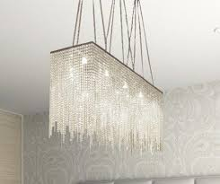 Rectangle dining room chandelier Olde Bronze 10 Light Moderncontemporary Dining Room Chandelier Rectangular Chandeliers Lighting Dressed With Crystal 28 Tromshistorielagorg 10 Light Moderncontemporary Dining Room Chandelier Rectangular