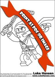 Small Picture Lego NINJAGO Hero Group Coloring Page Coloring Pages
