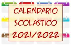 """Calendario scolastico 2021/22 – Istituto Comprensivo """"Paolo Soprani"""""""