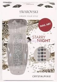 Crystal Pixie Swarovski Zdobení Na Nehty Starry Night