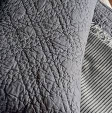 Summer Quilt in Grey, Summer Cotton Light Quilts & Nottingham, Handmade Diamond Pattern Luxury Cotton Quilt in Charcoal grey -  King Size Adamdwight.com