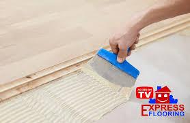 glue down laminate installation