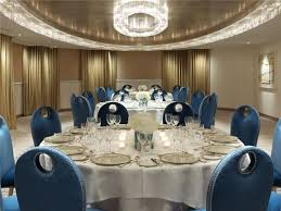 large round banquet tables