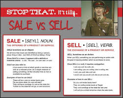For Sale Or For Sell Stop That Its Silly How To Use Sale Vs Sell Free