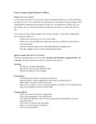Cover Letters Tips Addressing A Cover Letter Resume Letter