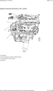repair guides wiring systems and power management (2008 Le5 Wiring Diagram engine harness routing 2 of 2 (le5) (2008) LE5 Underdrive Pulley