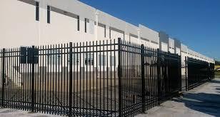 Decorative Security Fencing Security Fence North Florida Fence Company
