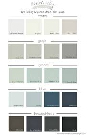 Benjamin Moore Aura Color Chart Best Selling Benjamin Moore Paint Colors