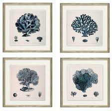 ask question about set of four blue c wall art