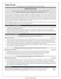 Management Analyst Resume Example Special Risk Management Resume Examples Credit Risk Analyst Resume 39