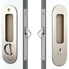 pocket door keyed lock modern round face high security sliding glass door key lock pella sliding