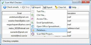 amp; Check Scan Csv Id Find Invalid Files Fake To List Database Email
