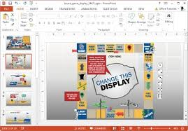 Powerpoint Board Game Template The Highest Quality Powerpoint