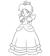 Join in on the fun as i, kimmi the clown, color in my super mario coloring & activity book! 25 Best Princess Peach Coloring Pages For Your Little Girl