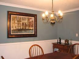 dining room paint ideas with chair rail photo 2