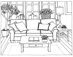Living Room Drawing Slidapp Com