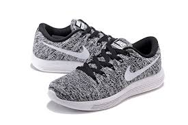 black and white nike air max shoes. nike lunarepic low flyknit black white 843764 001 mens running shoes and air max