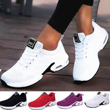 <b>2019 New Fashion Women</b> Lightweight Breathable Sneakers ...