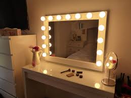 Hollywood lighted vanity mirror-large makeup mirror with lights-Wall  hanging/free standing