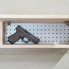 Hidden Gun Coat Rack Hidden gun storage Etsy 74