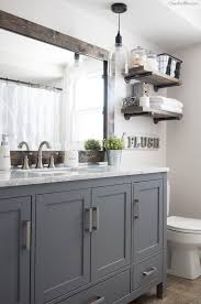 improve the value of your bathroom with this easy tutorial on how to frame a bathroom hang the mirror