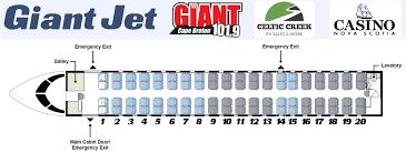 Casino Nova Scotia Seating Chart Giant Jet Destination Hard Rock Giant 101 9