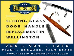 sliding glass door handle replacement